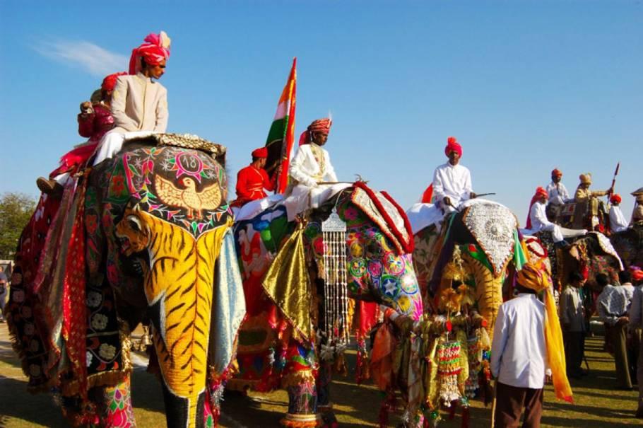 Royal Holi in Jaipur