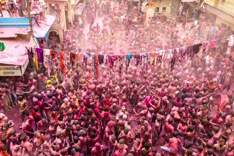 Holi madness in Pushkar