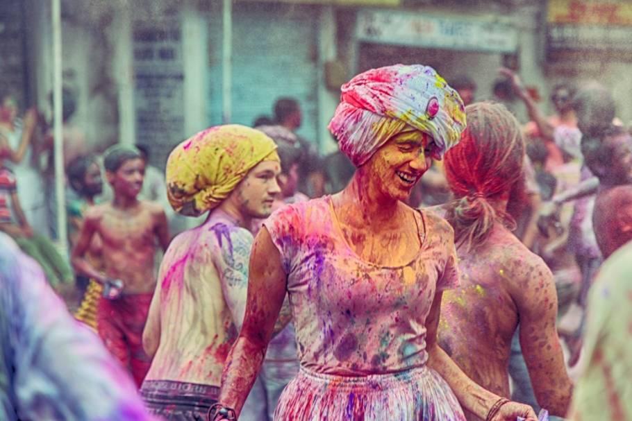 Colors of Holi in Pushkar