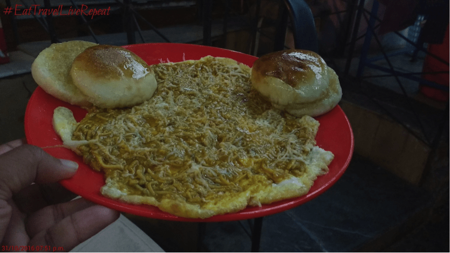Egg delicacy in Vadodara