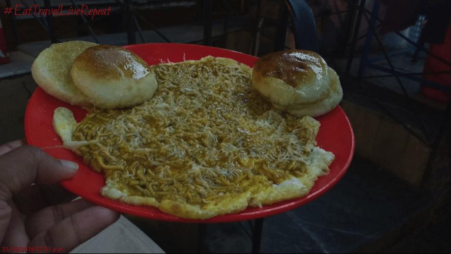 Egg delicacy in Vadodara