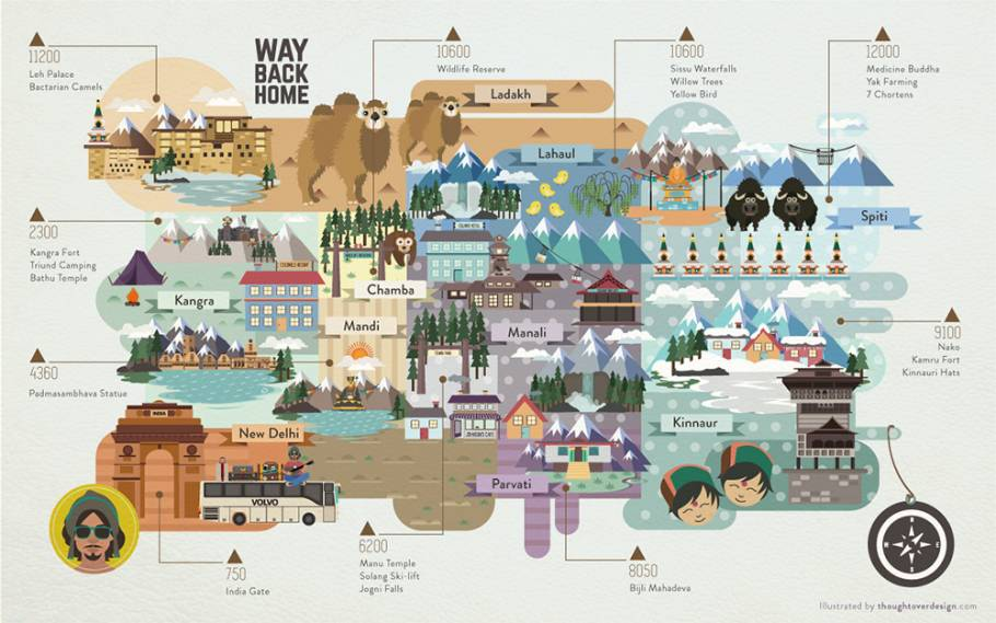 Way Back Home Map