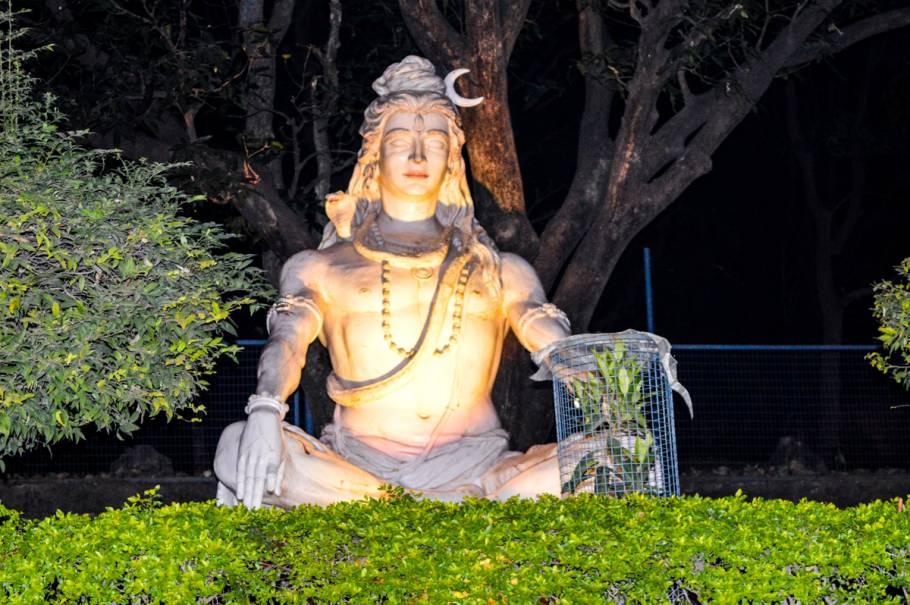 Lord Shiva idol at Parmarth Niketan Ashram