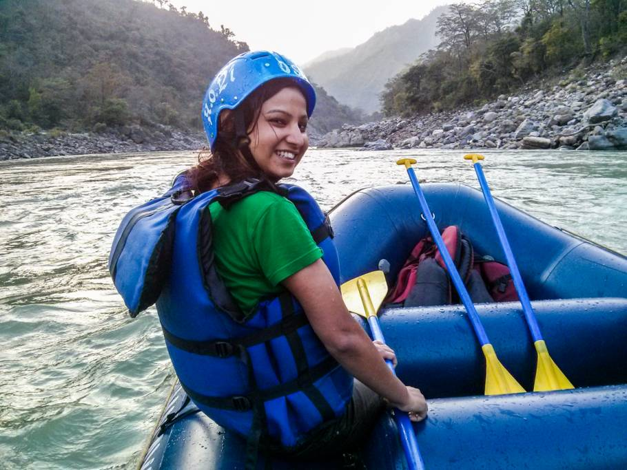 Rafting was awesome