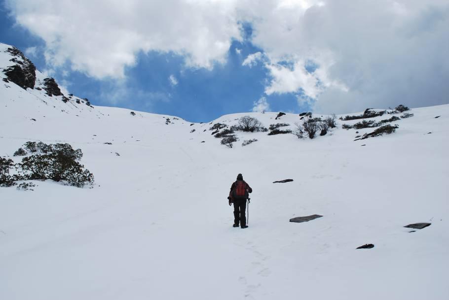 Dayara Bugyal Winter Trek, Uttarakhand