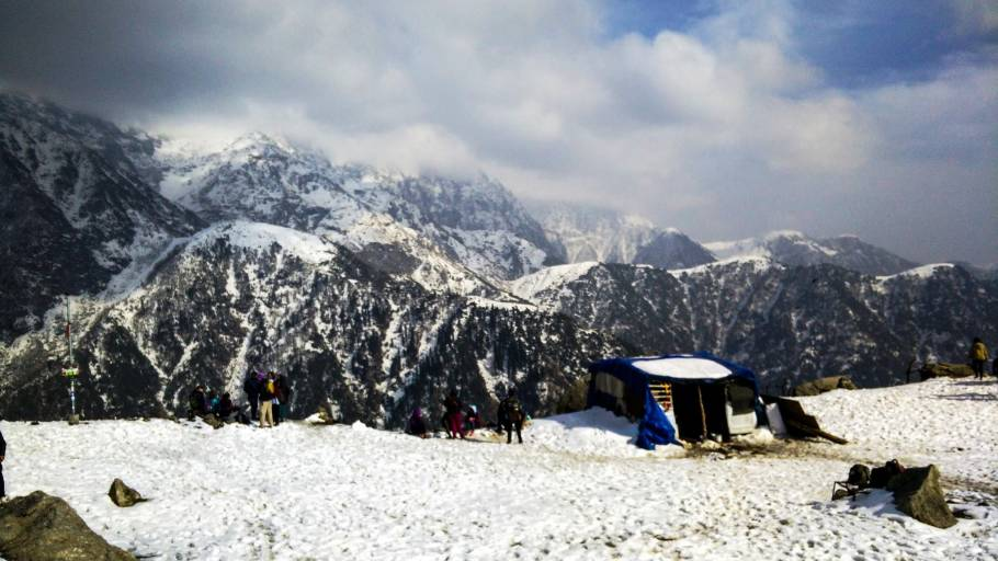 Triund Winter Trek, Himachal Pradesh