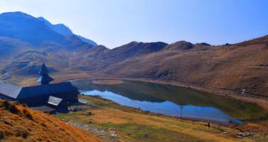 Image of Prashar Lake The Floating Island of the Himachal