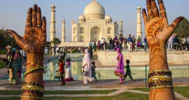Image of Enjoy The Beauty of Taj Mahal With Agra Tour Package