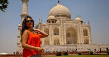 "Image of A Day in the city of love ""Agra"""