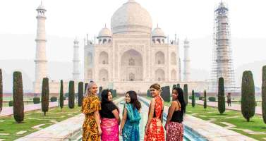 Image of Let's travel the most dignified monument Taj Mahal