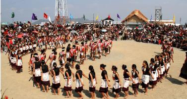 Image of Hornbill Festival in Nagaland- Nagaland's pride